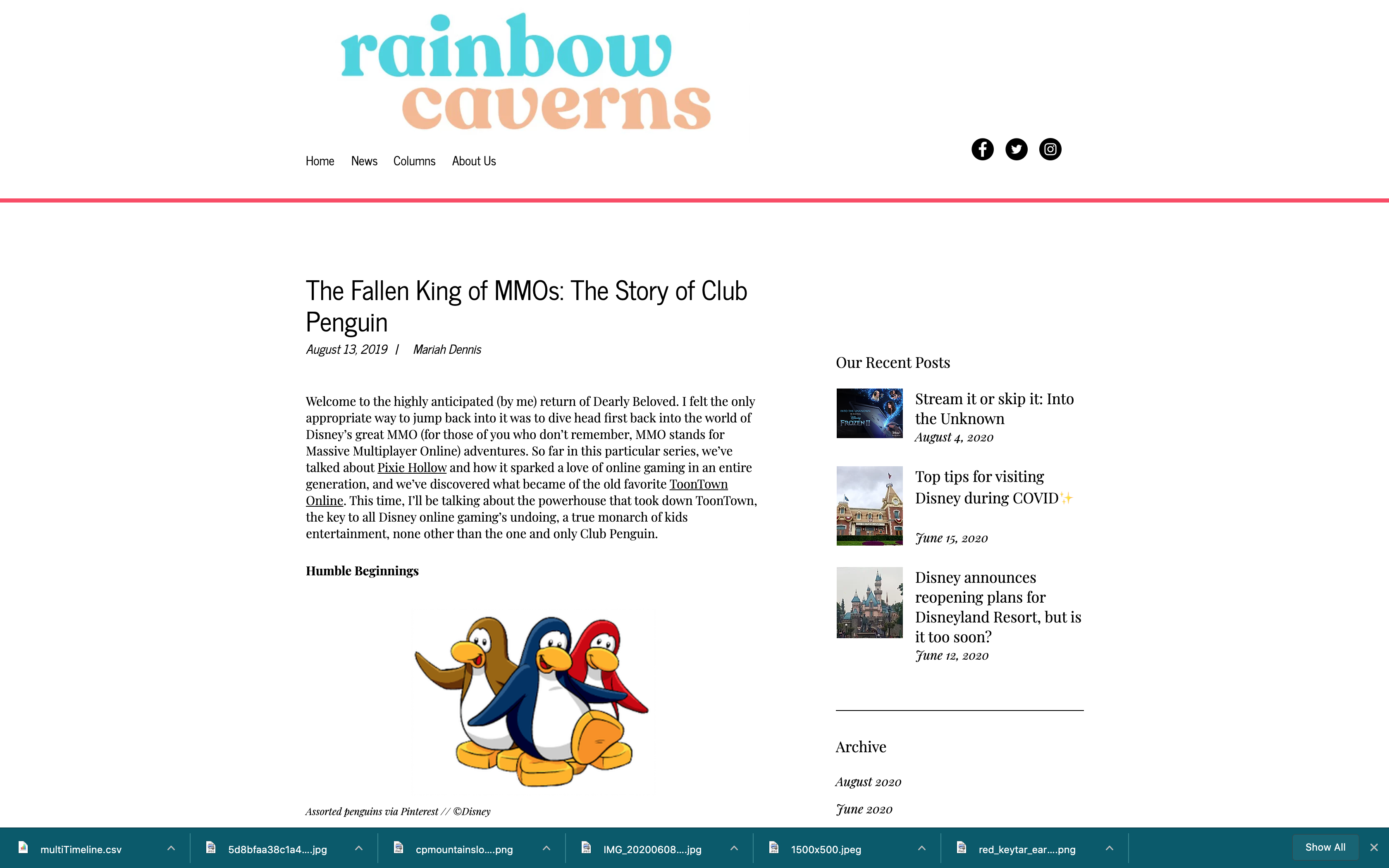The Fallen King of MMOs: Club Penguin